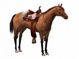 War horse 3d model