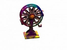 Toy ferris wheel 3d model