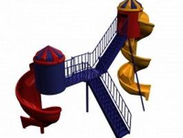 Torbellino playground 3d model
