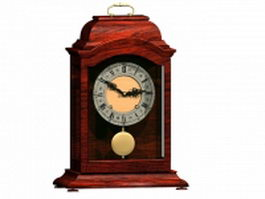 Italian pendulum clock 3d model