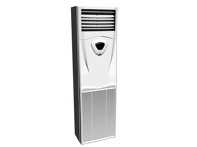 Floor Standing Air Conditioner 3d Model