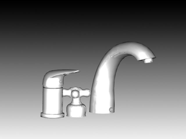 Water Tap Set 3d Model 3dsmax 3ds Autocad Files Free