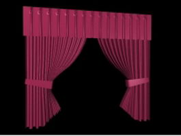 Versatile curtains 3d model