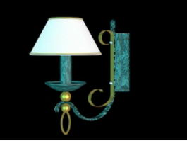Decorative wall lamp 3d model