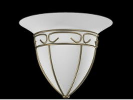 Residential wall lamp sconce 3d model