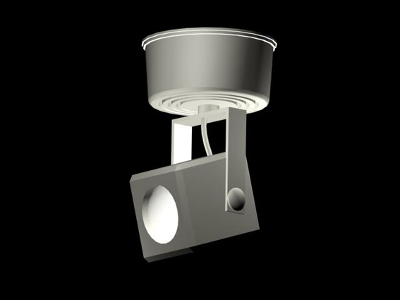 Surface Mounted Spot Light Design 3d Model 3dsmax 3ds
