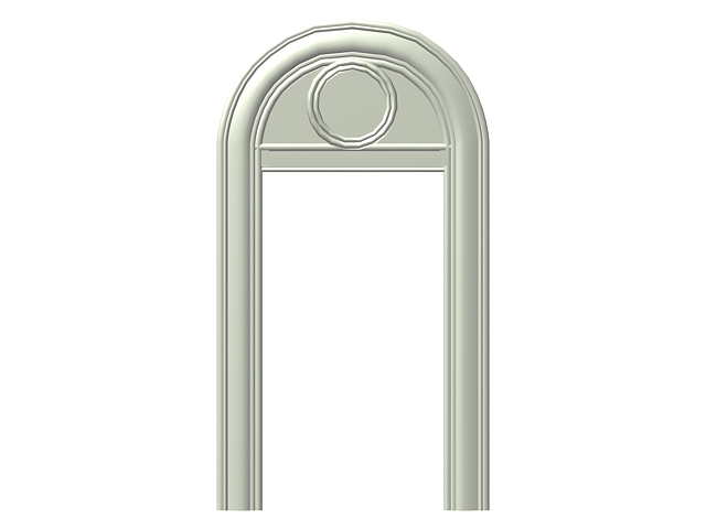 Arch door frame design 3d model 3dsMax,3ds files free download ...