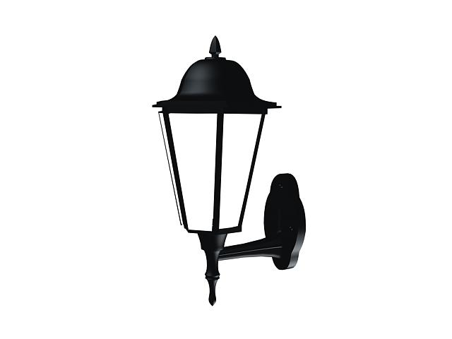 Wall mounted garden lantern 3d model - CadNav