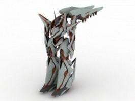 Another Century's Episode - robot warrior 3d model