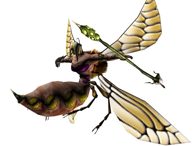 Bee Monster 3d Model 3dsmax Files Free Download Modeling