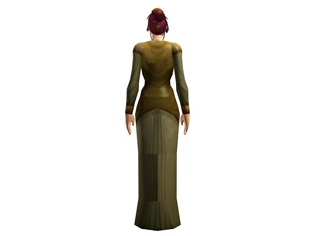 Cmivfx Character Concept Design Maya And Vray : Human female character concept d model dsmax maya files