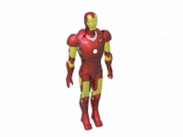 Iron man design 3d model