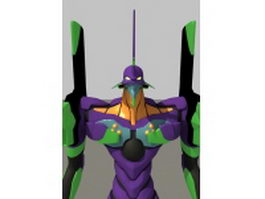 EVA Unit 01 Robot 3d model