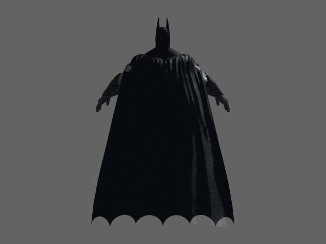 Batman Character Design 3d Model 3dsmax Files Free