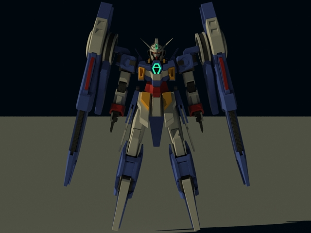 Cmivfx Character Concept Design And Vray : Mobile suit gundam age d model dsmax files free