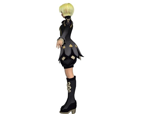 3d model of blonde - photo #48