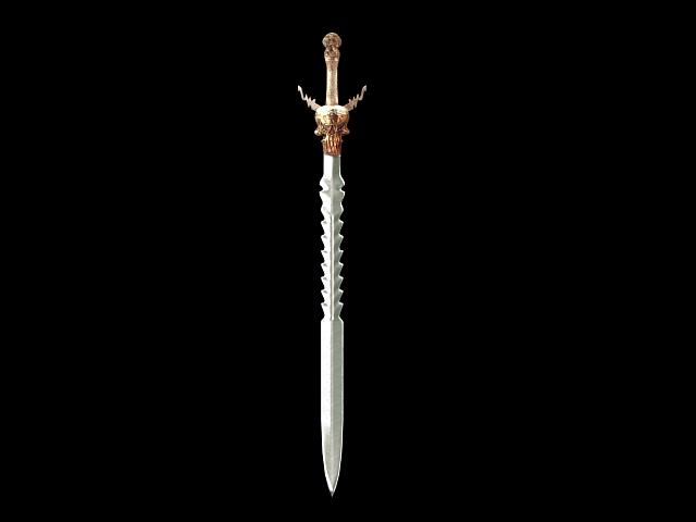 Cool sword design 3d model 3dsMax files free download ...