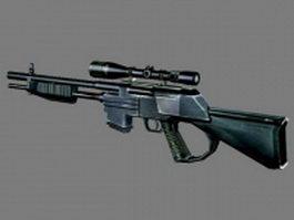 M24 sniper rifle 3d model