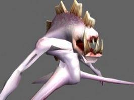 Fleshbeast 3d model
