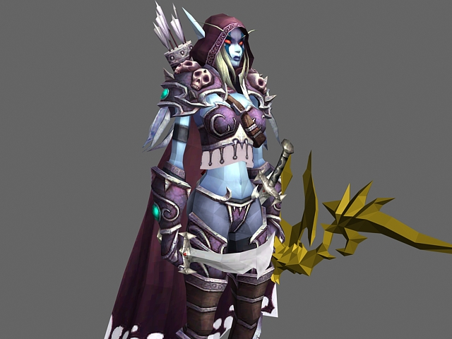 sylvanas windrunner lady model Wow