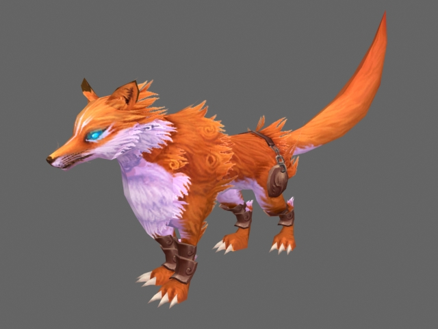 Animated fox 3d model - CadNav