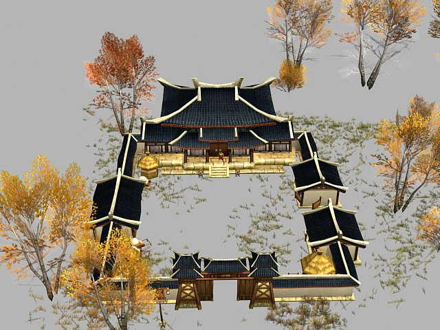 how to make a chinese house model