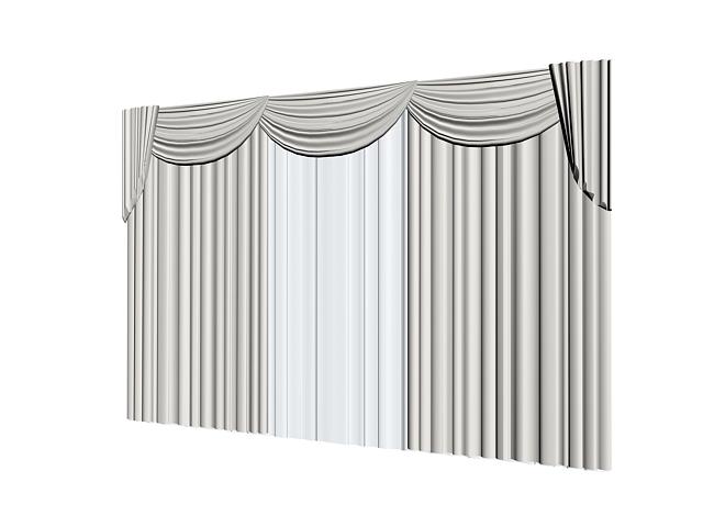 09. Curtains 3d models free download – 3dcube – download 3d model.