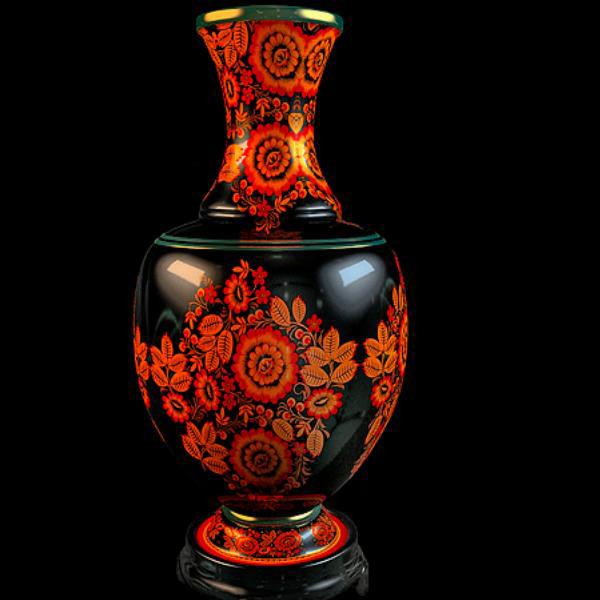 Ornamental Vase 3d Model 3dsmax Files Free Download