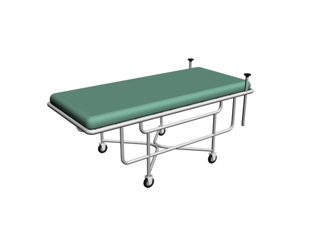 Hospital bed 3d model 3dsmax files free download for 3ds max bed model