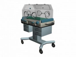 Infant incubator 3d preview