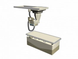 Medical x-ray machine 3d model