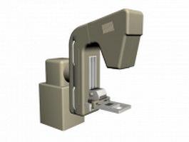 Medical diagnostic equipment 3d model