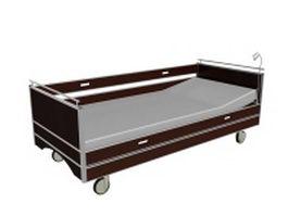 Healthcare bed 3d model