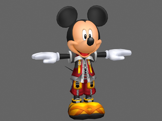 Mickey mouse 3d model 3ds max files free download for Donald model