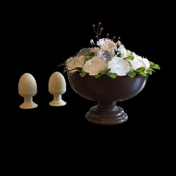 Decorative Flower Vase 3d Model 3ds Max Files Free