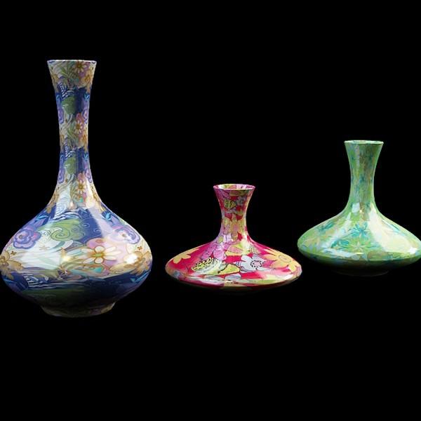Long Neck Vase Set 3d Model 3ds Max Files Free Download Modeling
