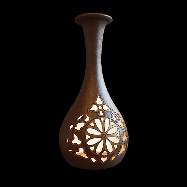 Pottery Gourd Shaped Vase 3d Model 3ds Max Files Free