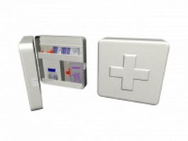 First aid box 3d preview
