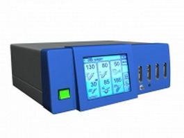 Surgery control unit 3d model