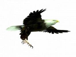 Flying eagle 3d model