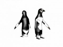 Chinstrap penguin 3d model
