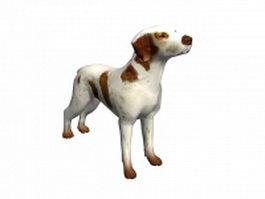 Pet dog 3d model
