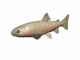 Rainbow trout 3d model