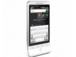 HTC Hero G3 3d model