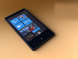Windows phone 3d model