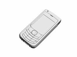 Low-end mobile phone 3d model