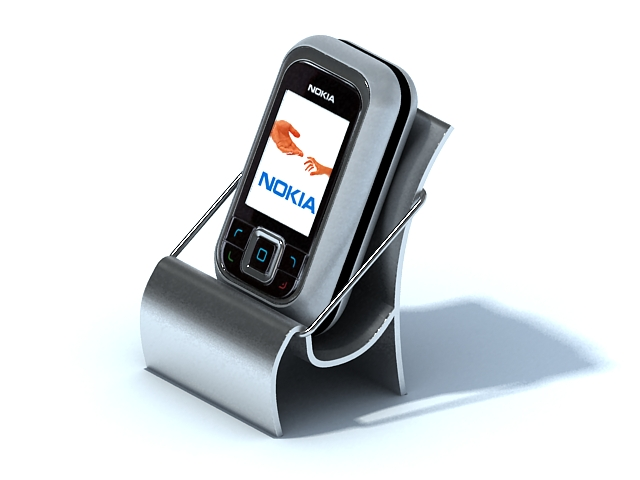 Nokia slider phone 3d model