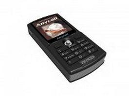 Sony Ericsson phone 3d model