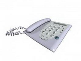 Home telephone 3d model