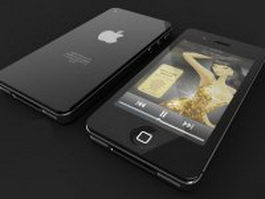 Apple iPhone 4 3d model